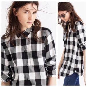Madewell Buffalo Plaid Flannel Size Small